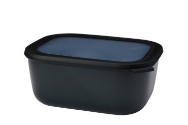 Multi bowl Cirqula rectangular 3000 ml - Nordic black